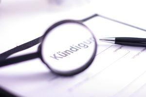 Bürgen Sie für einen Kredit, ist eine Kündigung nur unter gewissen Umständen möglich.
