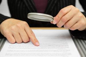 Prüfen Sie die Bürgschaftserklärung genau, bevor Sie diese unterschreiben.
