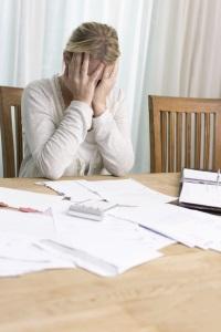 Durch Schuldeneintreiber Geld Eintreiben Schuldnerberatung