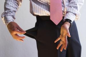 Insolvenz: Das gesamte Vermögen des Schuldners wird durch den Insolvenzverwalter betreut.
