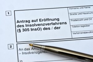 Bevor Sie den Insolvenzplan einreichen können, müssen Sie zunächst die Privatinsolvenz anmelden.