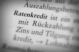 Feststellung der Kreditunwürdigkeit: Ein Kredit rückt damit oft in weite Ferne.