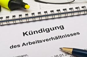 Ein starker vorläufiger Insolvenzverwalter darf in der Regel Kündigungen aussprechen.