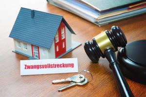 Bei der Zwangsvollstreckung in unbewegliches Vermögen stehen Immobilien des Schuldners im Fokus.